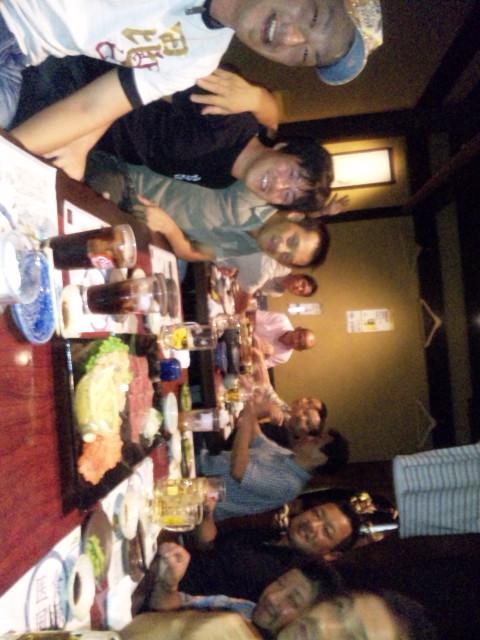 関谷先輩を囲む会…。