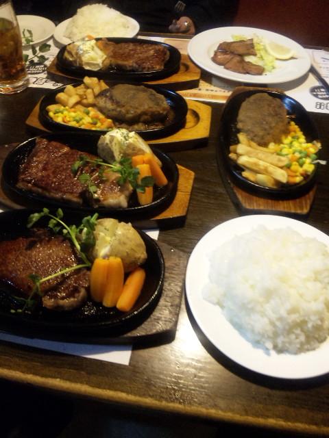 今日の夕食…。