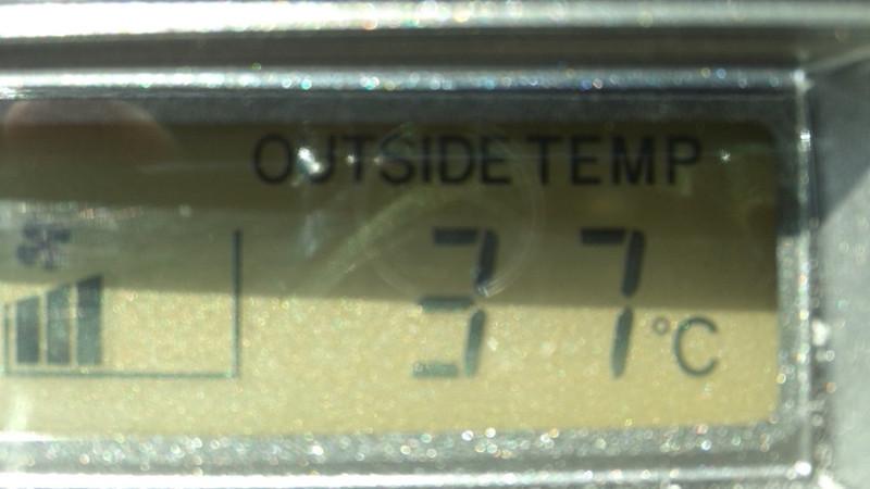 強烈残暑…